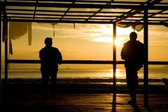 soluppgång 108 Arkivfoton