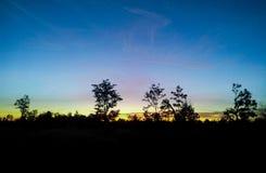 soluppgång 7 Arkivfoton