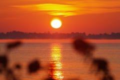 soluppgång 5 Arkivbild