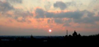 soluppgång Royaltyfri Fotografi