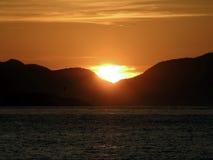 soluppgång Royaltyfria Foton