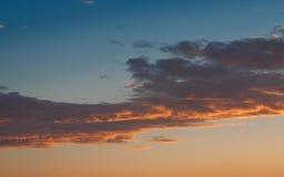 1 soluppgång Arkivbild