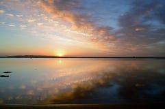 Soluppgång Australien Royaltyfri Bild