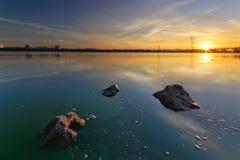 Soluppgång av Augusti Arkivfoton