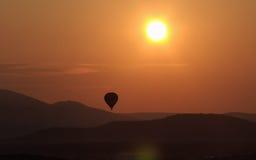 soluppgång för 3 luberon Royaltyfria Foton