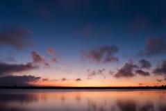soluppgång för golan höjder Fotografering för Bildbyråer