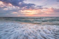 soluppgång för hav 3d Arkivfoton