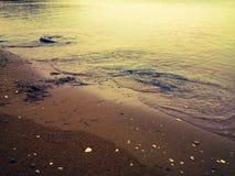 soluppgång för hav 3d Royaltyfria Foton
