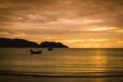 soluppgång för hav 3d Royaltyfria Bilder