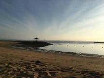 Soluppgång i Bali Indonesien Royaltyfria Foton