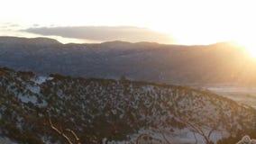 Soluppgång i bergen Royaltyfri Foto