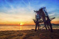 Soluppgång i den Nha Trang stranden Fotografering för Bildbyråer