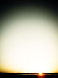 Soluppgång i Mongoliet Royaltyfri Bild