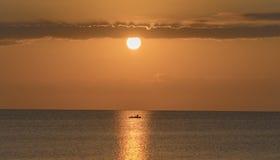 Soluppgång i södra florida Arkivfoton
