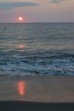 Soluppgång i Virginia Arkivfoto
