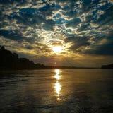 Soluppgång på El Rio Del Madre royaltyfri foto