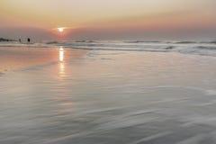 Soluppgång på Hilton Head Island arkivbilder