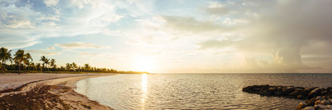 Soluppgång på Key West Arkivfoton