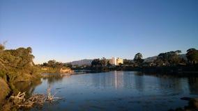 Soluppgång på UCSB Royaltyfria Bilder