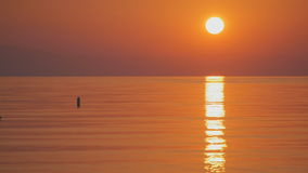 Soluppgångbakgrund i Turkiet arkivfilmer