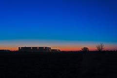 Soluppgångbild Arkivfoto