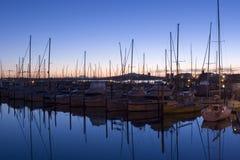soluppgången westhaven Arkivfoto