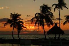SoluppgångFlorida tangenter fotografering för bildbyråer