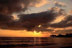 Soluppgånggolf av Thailand Royaltyfri Fotografi
