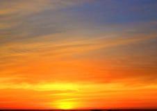Soluppgånghorisont Skyscape Royaltyfri Bild