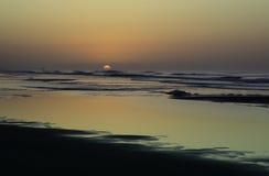 Soluppgånglynnen Arkivfoton