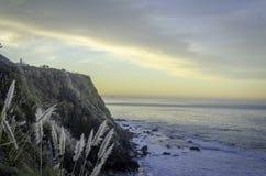 SoluppgångStilla havet stora Sur Royaltyfri Fotografi