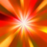 Soluppgång med försiktigt Royaltyfri Bild