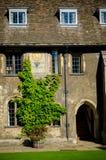Solur i Cambridge Royaltyfri Foto