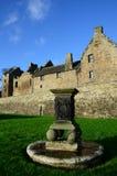 Solur och slott Arkivfoto