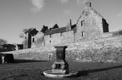 Solur på slotten Royaltyfri Foto
