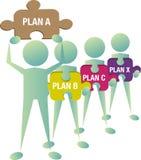 solutiion принципиальной схемы Стоковое Изображение