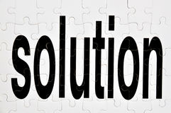 Solution Royalty Free Stock Photography