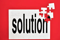 Almost the solution Stock Image