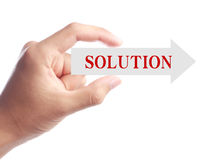 Solution Abstract Royalty Free Stock Photography