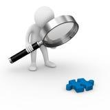 Solution analysis Stock Photo