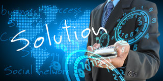 Solution stock images