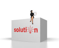Solution Royalty Free Stock Photo