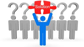 Solution Concept Royalty Free Stock Photo