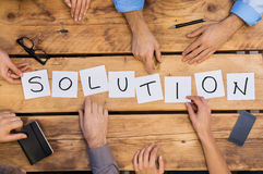 Solution concept Stock Image