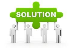 Solution concept Royalty Free Stock Photos