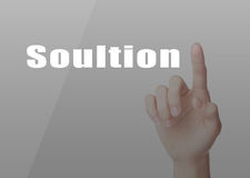Solution Concept Stock Images