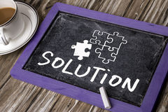 Solution concept Stock Photos