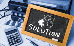Solution concept Royalty Free Stock Photos