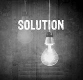 Solution concept Royalty Free Stock Image
