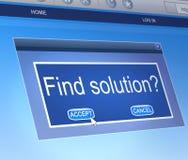 Solution concept. Stock Photos